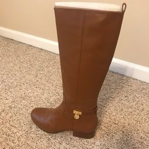Michael Kors Shoes - Beautiful Michael Kors tall boots worn once 9.5💕